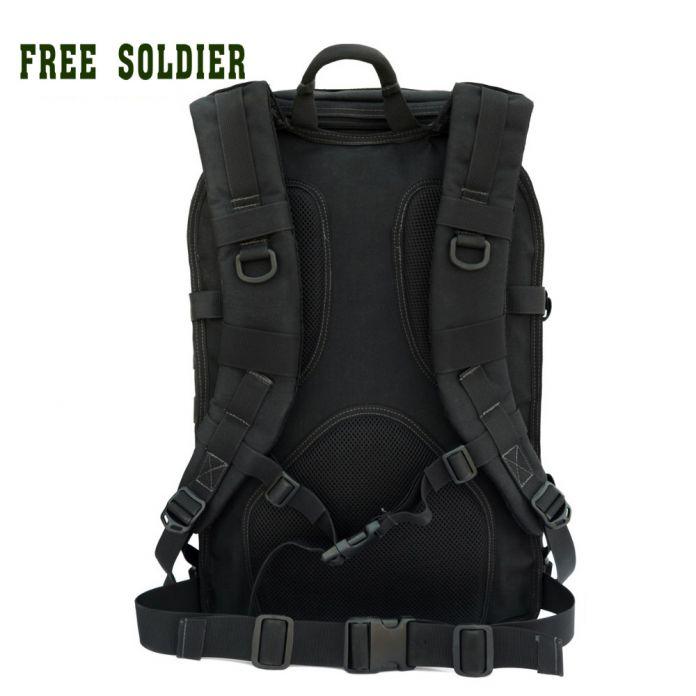 Альпинистский рюкзак для путешествия и ходьбы поездок и бивака X7 тактичекий рюкзак для компьютера YKK молнии duraflex Free Soldier
