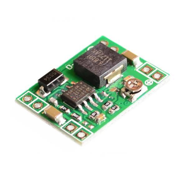 Бесплатная доставка ультра-малых блок питания DC / DC бак 3A регулируемая доллар регулятор модуль ультра LM2596S