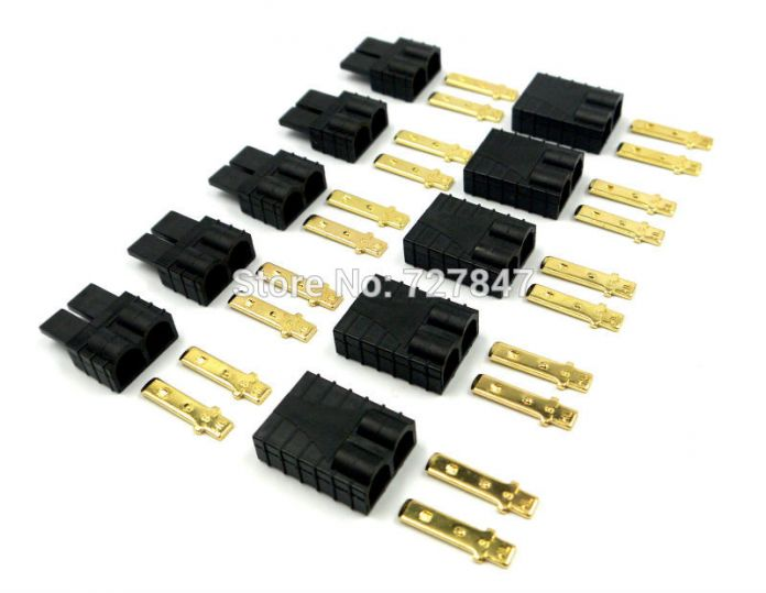 5 пара Traxxas/TRX Пробки Lipo/NiMh Brushless ESC RC Батареи Разъем