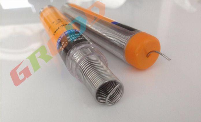 Нержавеющей стали алюминиевый оловянный припой, содержащий канифоль для пайки железа и алюминия батареи алюминиевые tindiameter: 0.8 мм L: 3 М