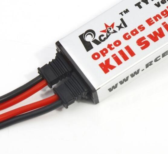 Rcexl Opto Газовый Двигатель Kill Switch для RC Модели Бензин Самолет самолет Бесплатная Доставка