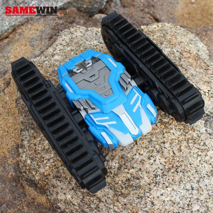 Прочный двуличный гусеница дистанционного управления автомобилем внедорожник ухабистой - дорога RC танк SameWin через стену