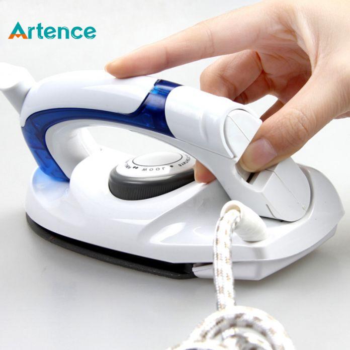 Мини портативный складной электрический паровой утюг для одежды из тефлона с 3 передачами, ручной утюг для дома и путешествий