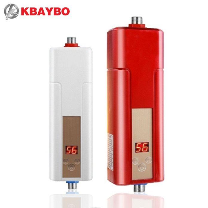 5500 Вт проточный водонагреватель кран водонагреватель мгновенный электрический водонагреватель душ бесплатная доставка