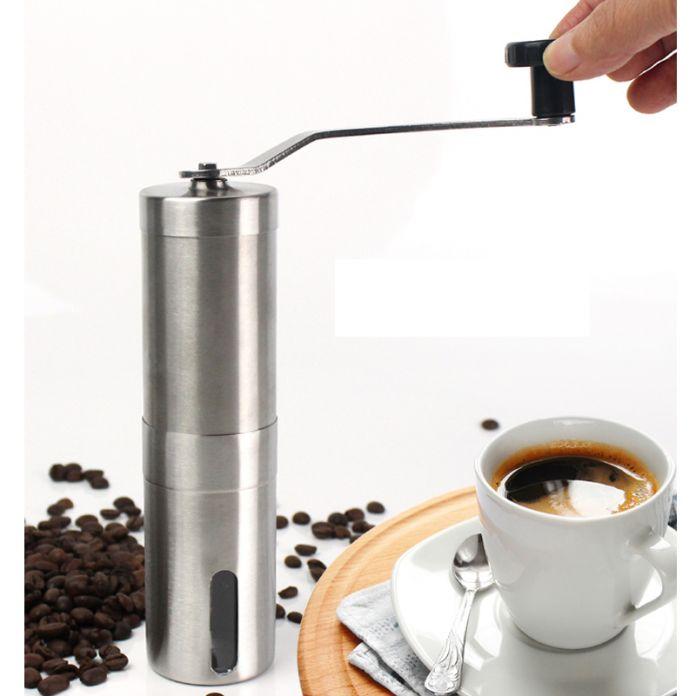 Новый Удобный Нержавеющая Сталь Ручной Кофемолки Съемный легко Собрать Кофеварка Портативный Кофемолка
