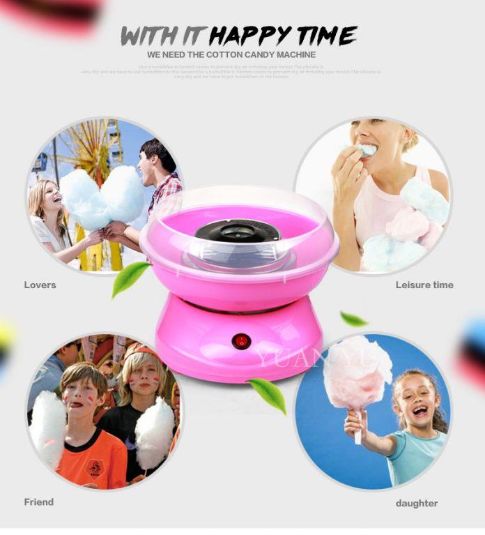 Высокое качество Мини Cotton Candy Maker DIY Сахарной ваты Машина Сахарная Вата Машина снэк-Киосков Для Childern Подарок