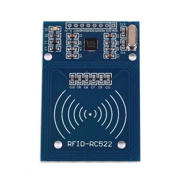 Индуктивный датчик модуль для Arduino (модуль RC522 + S50 NFC карта + NFC ключ)