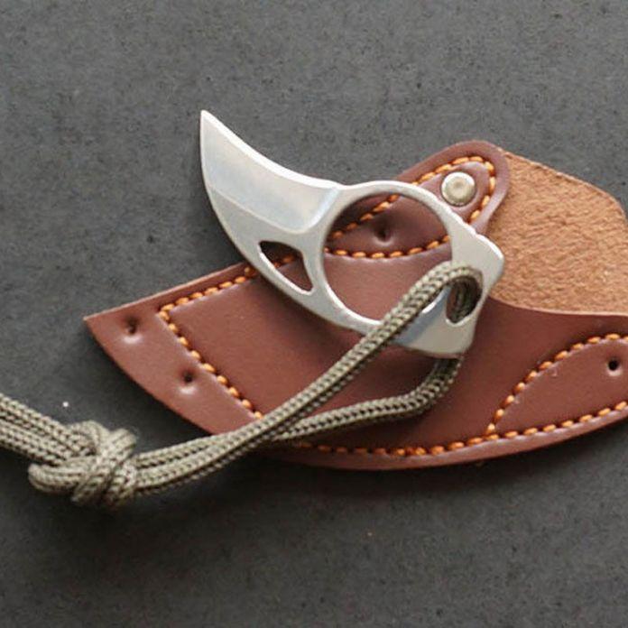 Открытый Мини Нержавеющей EDC Инструмент Коготь Нож Переносной MC Карманный Нож Отдых На Природе Выживание Нож самооборона Маленький Нож