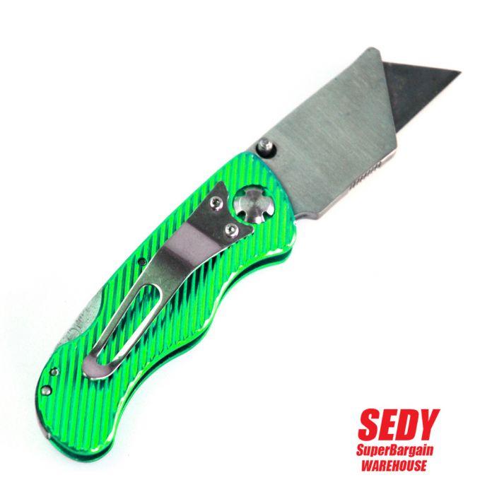SDY-16055 Складной Нож Нож Скорость Выпущен Шпагат Диспенсер и 10 Дополнительные Лезвия 5-0