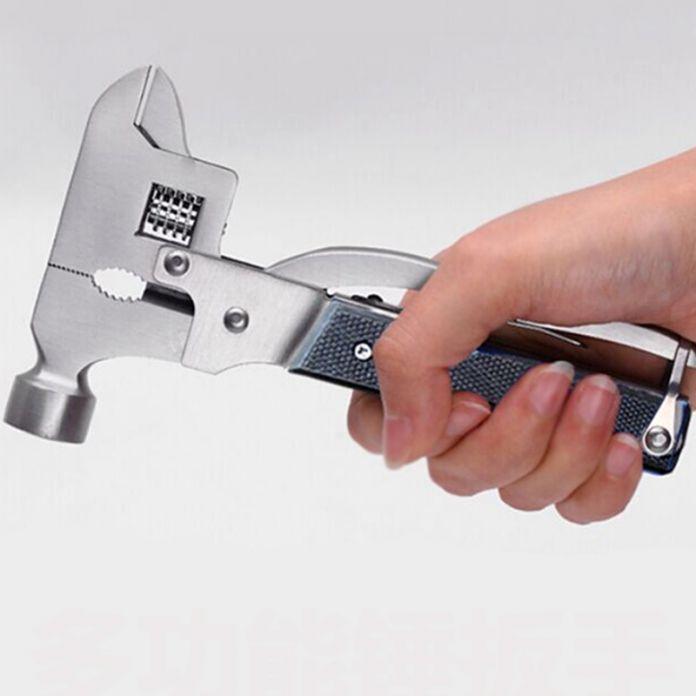 Многофункциональный Универсальный Гаечный Ключ Молоток самооборона Многофункциональный Мульти Инструменты Открытый Выживания Ручной Инструмент Ferramentas Herramientas