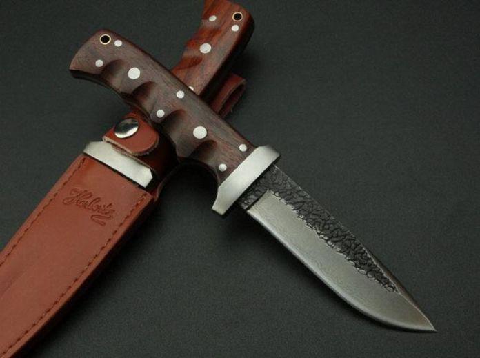 Высокое качество руководство дамасская сталь кованые прямой нож охотничий 62HRC твердость - самооборона нож тактический
