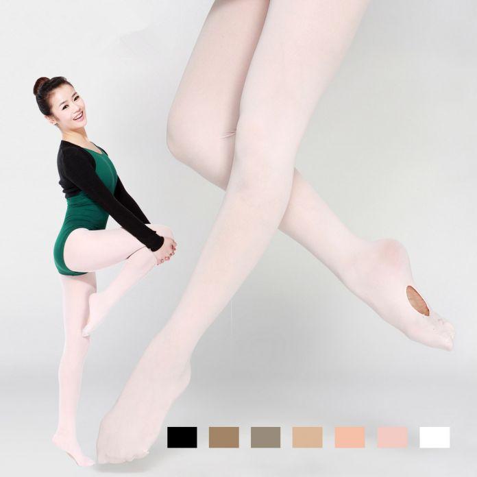 2015 Горячей Продажи Бархат Взрослых Танец Носок Колготки Профессиональный Балет Носки Танцы Балерина Профессиональный Леггинсы Женщин T-2002