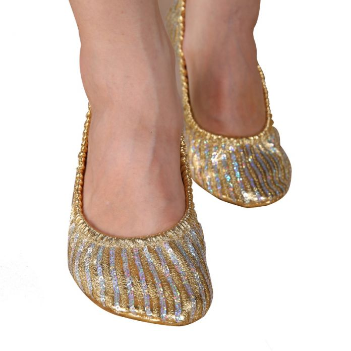Новый Танец Живота Для Взрослых Женщин Профессиональные Обувь Тапочки Плоским Пятки Балерина Кожаная Подошва ZT7