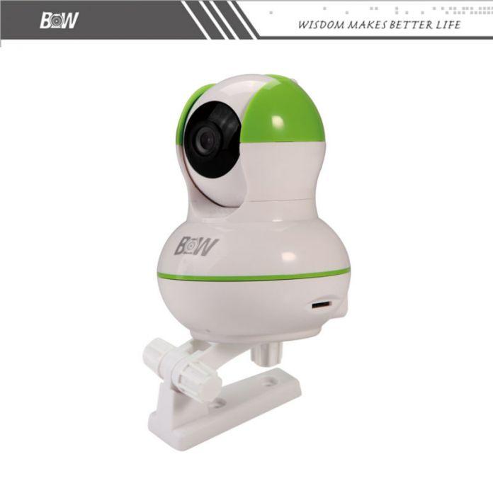 CCTV Инфракрасная Камера + Детектор Дыма Сигнализации Дома Системы Ночного Видения Ip-камера Охранной Безопасности Видеонаблюдение BW-IPC012GR