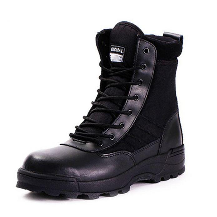 Горячие Новые Мужские Армейские Ботинки Тактические Ботинки Комфорт Пустыни Военные Ботинки Кожаные Ботинки Мужские Армейские Ботинки Сапоги 2016