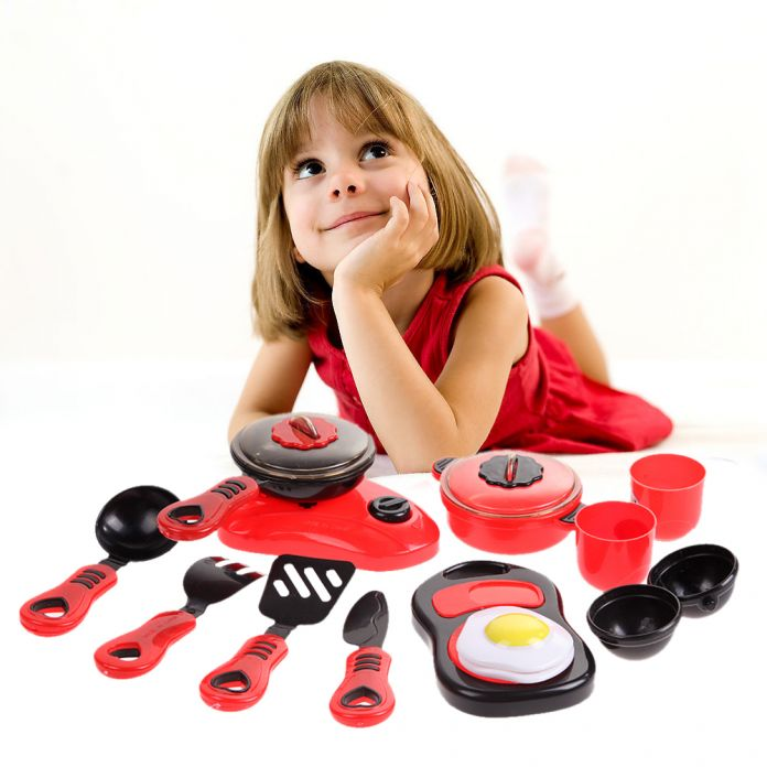 Новые Дети DIY Красоты Кухня Кулинария Игрушки Ролевые Игры Игрушки набор Развивающие Игрушки детские игрушки кухня кухонный гарнитур для детей # 1JT