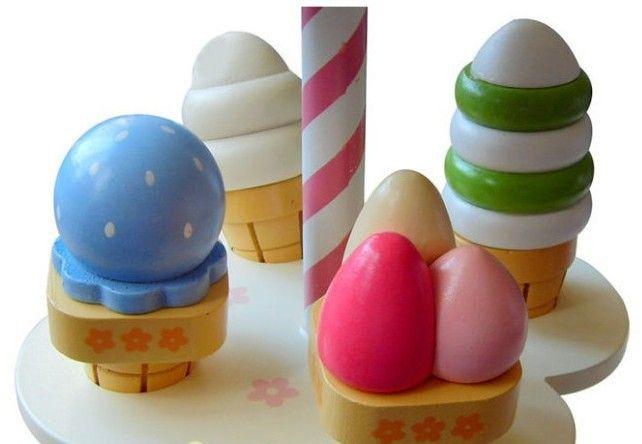 Детские игрушки моделирование магнитный мороженое деревянные игрушки комплект вид , игра кухня детское питание детские игрушки питание день рождения / рождественский подарок