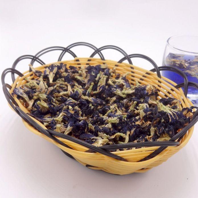 100g. Высокое Качество Clitoria Ternatea Чай. Голубая Бабочка Горох чай. Сушеные Clitoria кордофан горох цветок. Таиланд