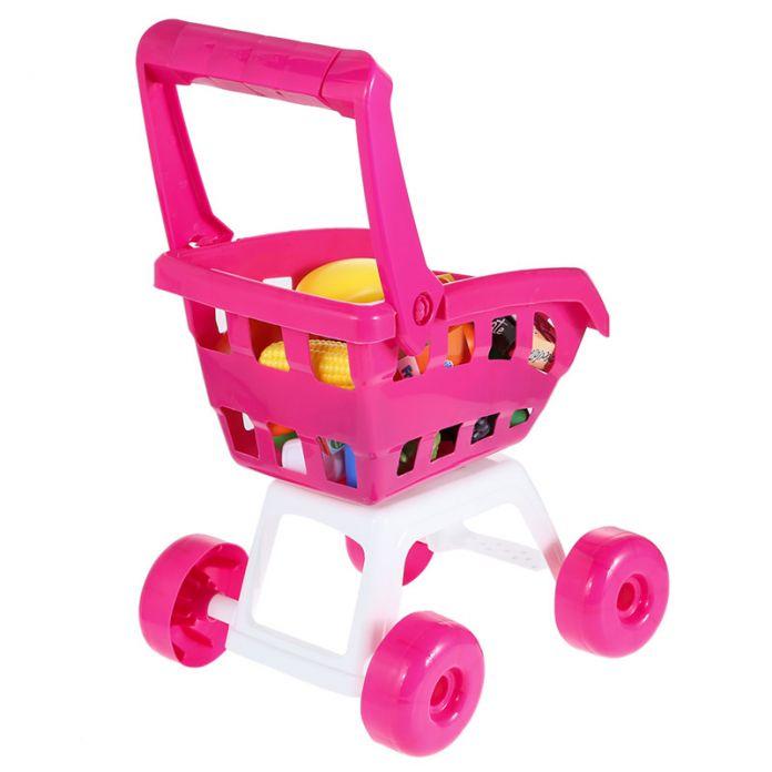 Дети Играют Дома Игрушки Моделирование Супермаркет Корзина Мини тележки с Фруктами Растительного Упакованных Продуктов Питания Детей Подарок На День Рождения