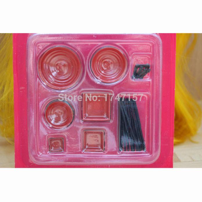 В масштабе 1:12 миниатюрных кукольный домик китайское блюдо чаша палочки комплект посуды Miniaturas кухни игрушки