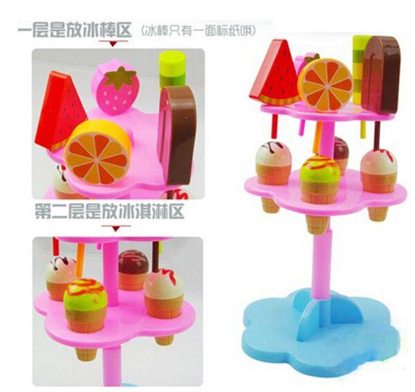 Детские игрушки моделирование мороженое игрушки комплект вид , игра кухня детское питание детские игрушки питание день рождения / рождественский подарок