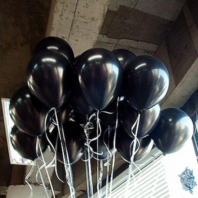 20 шт./лот 10 inch 1.5 г Черный Латексные Шары Воздушные Шары Надувные Свадьба Украшения День Рождения Kid Партия Float Шары игрушки