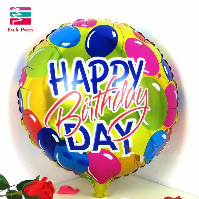 18 дюймов алюминия сердце воздушный шар алюминиевой фольги воздушный шар мультфильм дети поставок день рождения украшения гелиевые шары
