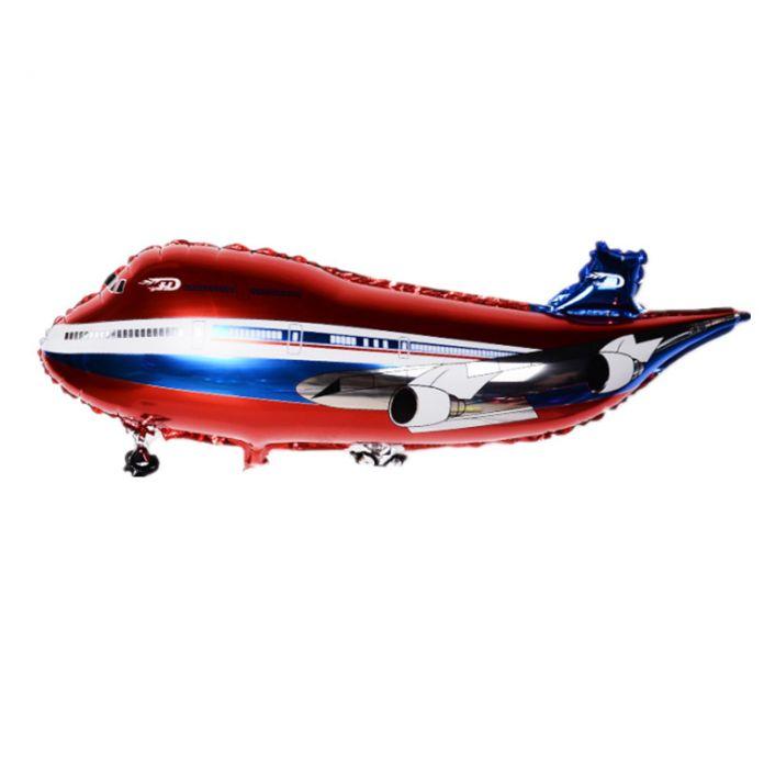 36 inch Бесплатная доставка супер большой воздушный пассажирский самолет формы алюминия БАЛЛОН День Рождения Украшение Партии воздушный шар игрушка оптовой