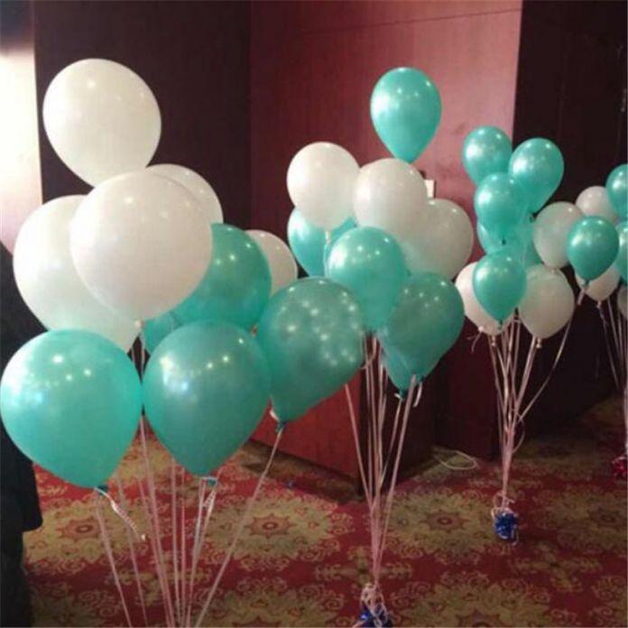 20 шт./лот 10 inch 1.5 г Тиффани Латексные Шары Воздушные Шары Надувные Свадьба Украшения День Рождения Kid Партия Float Шары игрушка