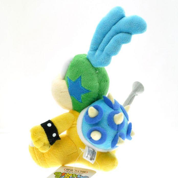 1 шт. 16 см Super Mario Bros Ларри Купа Плюшевые Игрушки Куклы Cheatsy мужской Koopalings Мягкая Игрушка Кукла Животных Для Детей Подарок для Ребенка