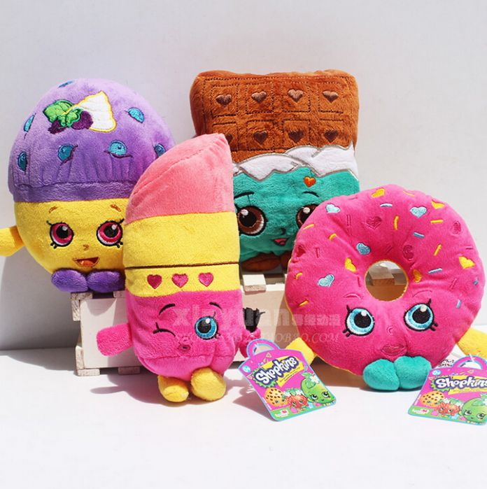 7 стиля фрукты плюшевые игрушки клубника яблоко печенье пончики помада шоколадный кекс игрушки для куклы и мягкие