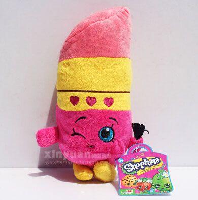 1 шт. фрукты плюшевые игрушки 17 - 25 см 7 другой стиль Apple , печенье пончики помада шоколадный кекс игрушки для девочки WJ185