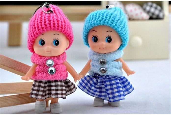 1 ШТ. НОВЫЙ Детей Игрушки Мягкие Интерактивные Детские Игрушки Куклы Мини Куклы Для девочек и мальчиков Бесплатная Доставка