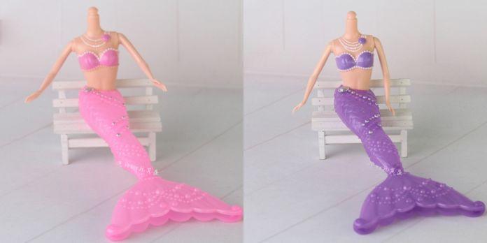 Новый 3D Большегрузных Глаза Ню Голая кукла Игрушки/12 Совместное Передвижная/длинные Stright Вьющиеся Волосы Белой Кожей Для Барби Куклы Рождественский Подарок