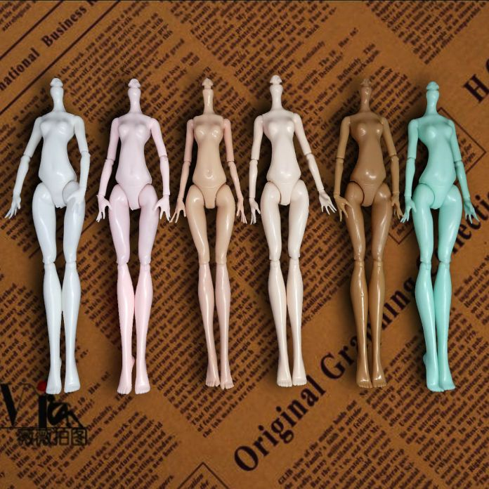 Высокое Качество Имитации Демон Монстр Куклы Нагое Тело Без Головы Для Monster High Куклы DIY Сказки Вращающимся Суставы Куклы