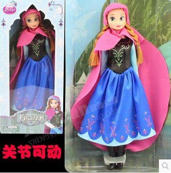 Disney Игрушки Моды Подарок Для Ребенка Замороженные Эльза Принцесса Куклы Для Девочек Американские Девушки Куклы Игрушки Brinquedos Ty051