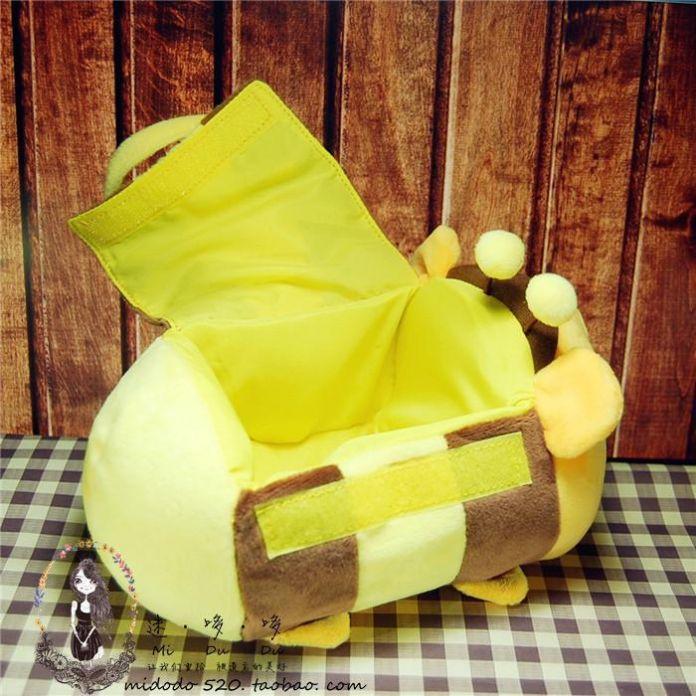 Оригинальный Tsum плюшевые игрушки W innie в пу медоносных пчел чехол шмель сумки-носители пятачок иа тигра мягкие игрушки