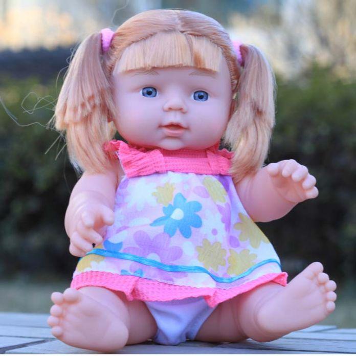 28 см кукла игрушки ванны пояса голосовой игрушки Lizunov игрушки куклы для девочек силиконовые куклы-реборн Африканских кукла
