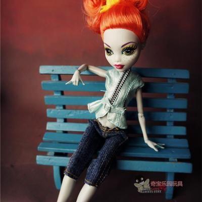 Новый случайный набор Одежды для Monster High Одежда для Куклы Горячий Продавать Девушка Подарок Одежда для Monster High
