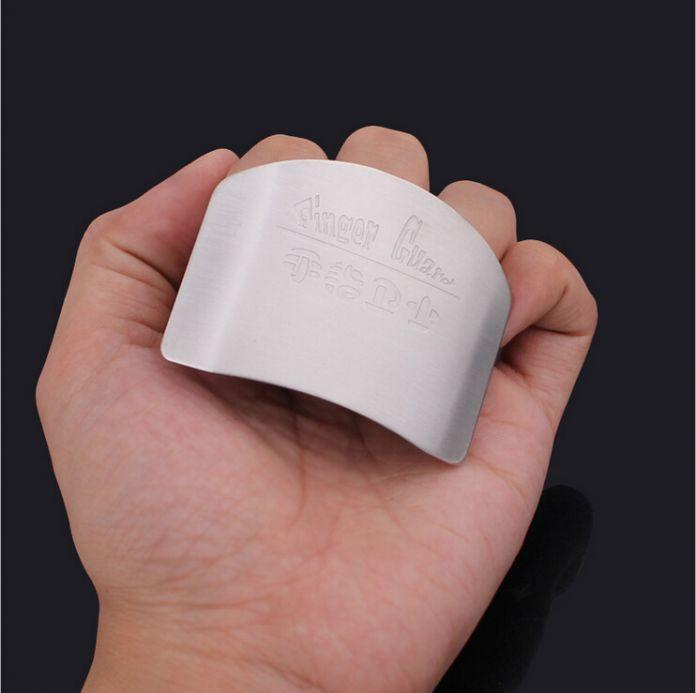 6.5 * 4.8 см нержавеющая сталь приготовления инструменты, Кухня помощник ножей пальцев защита рук охраны продукты питания безопасными