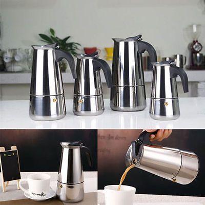 300 мл из нержавеющей стали мока экспресс 6-Cup кофеварка плите эспрессо горшок