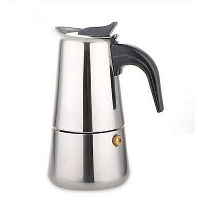100 МЛ 300 МЛ высококачественной нержавеющей мока кофе Эспрессо кофейник, Экспресс кофеварка