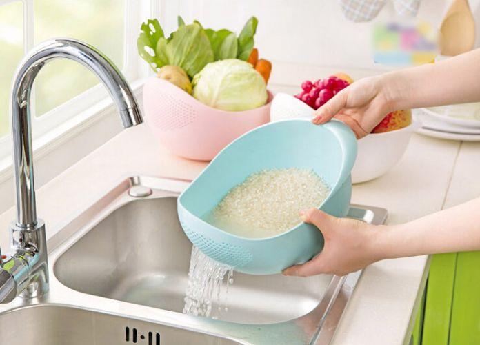 Многофункциональный инструмент кухни кулинария инструменты пластиковые дуршлаг посуда для кухни гаджет для овощей корзины ситечко риса B0252