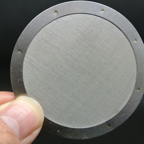 Бесплатная доставка Aeropress металлический фильтр эспрессо кофеварка фильтр многоразовый фильтр