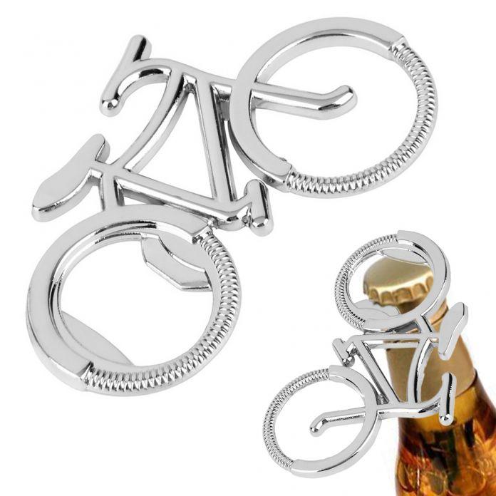 2016 Горячий Новый Милый Велосипед Металлический брелок Открывалка для бутылок Пива брелоки для велосипеда любовника байкер Творческий Подарок для Свадьбы