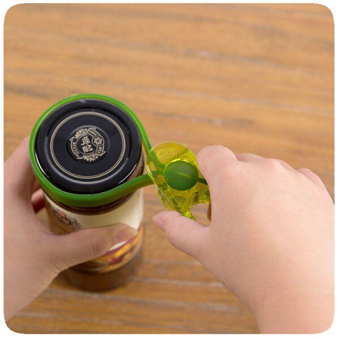Новое Пришествие Многофункциональный Карман Простой Открывалка Для Бутылок Пластиковые Винт Консервы Открывалка Для Банок, Колпачок Фляги, Бутылки Ключ