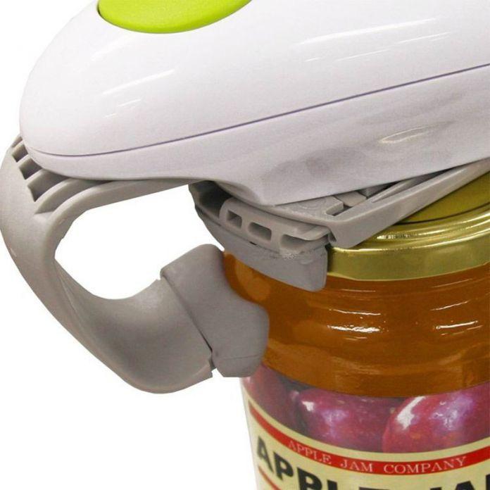 2016 Новый One Touch Автоматическая Электрическая Консервный нож Кухня Jar Открывалка Консервы Электрическая Открывалка Инструмента Кухни бесплатная доставка CFT144