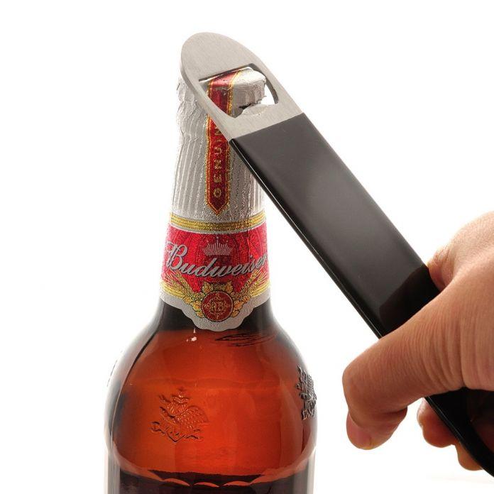 Высокое качество Многоцелевой Нержавеющей Стали Открывалка Для Бутылок Бар Пивной инструмент Бар Лезвия Сошников