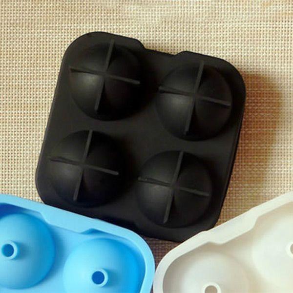 Продукты питания безопасными силиконовые сферический круглый шар льда куб чайник плесень форма для ну вечеринку легко DIY дома