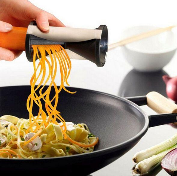 Спираль терка овощным жульеном фрукты твистер кухня резак спираль ломтерезный нож полезная кухня столовая бар кулинария инструмент